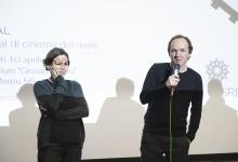 _DSC1494 La montatrice Stefanie Gaus e Volker Sattel il regista del film La cupola