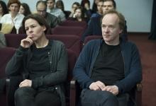 _DSC1513 La montatrice Stefanie Gaus e Volker Sattel il regista del film La cupola