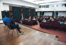 _DSC1653 Il regista Pietro Marcello dialoga con il pubblico
