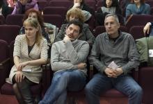 _DSC1705 La Giuria composta da Mireia Iniesta Navarro, Simone Moraldi e Giovanni Columbu